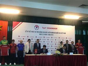 Lộ diện nhà tài trợ chính cho đội tuyển bóng đá quốc gia Việt Nam
