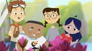 Chôm chôm và những người bạn - Serie phim hoạt hình dành cho các bạn nhỏ yêu thích khám phá