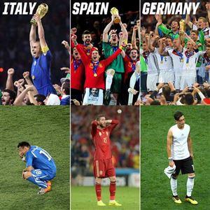 Tuyển Đức bị loại: Cái dớp của chức vô địch FIFA World Cup™