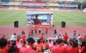 Điểm xem Olympic Việt Nam và Hàn Quốc trên màn hình lớn tại các tỉnh