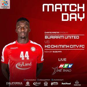 18h30 ngày 21/1: HTV THỂ THAO trực tiếp trận đấu Buriram United - TP Hồ Chí Minh