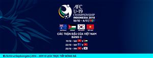 Lịch thi đấu vòng chung kết U19 châu Á 2018