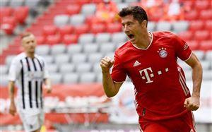 Lewandowski lập kỷ lục mới ở Bundesliga