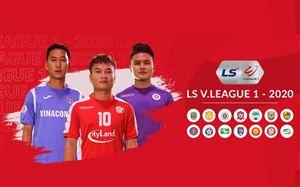 Lịch thi đấu và trực tiếp vòng 6 V.League 2020: Tâm điểm DNH Nam Định – CLB Hải Phòng, Than Quảng Ninh – CLB Quảng Nam