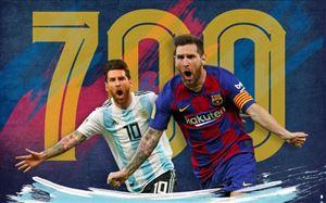 Lionel Messi cán mốc 700 bàn thắng trong sự nghiệp, chuẩn bị bắt kịp Pele