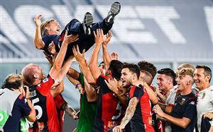 Vòng 38 giải VĐQG Italia Serie A: Genoa trụ hạng thành công