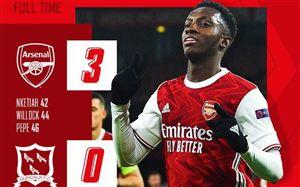 Kết quả UEFA Europa League ngày 30/10: Arsenal, AC Milan đại thắng, Tottenham bất ngờ bại trận
