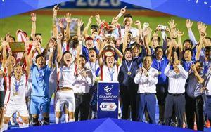 BXH chung cuộc LS V.League 1-2020: CLB Viettel vô địch, CLB Quảng Nam xuống hạng