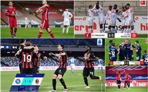 Kết quả, BXH các giải bóng đá VĐQG châu Âu sáng 23/11: Liverpool thắng đậm Leicester, AC Milan lấy lại ngôi đầu Serie A