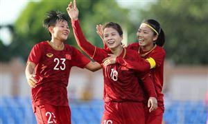 Đội tuyển nữ Việt Nam kết thúc năm 2020 ở hạng 34 thế giới trên BXH FIFA