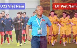 Giao hữu: ĐTQG Việt Nam - ĐT U22 Việt Nam (17h00 hôm nay 27/12)