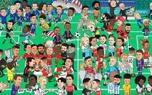 Những cột mốc ấn tượng của bóng đá thế giới trong 12 tháng vừa qua