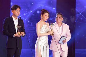 Diễm My 9X giành Nữ diễn viên truyền hình xuất sắc nhất tại Ngôi Sao Xanh 2020 nhờ phim Tình yêu và Tham vọng