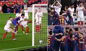 Ngược dòng ngoạn mục, Barcelona vào chung kết cúp Nhà vua Tây Ban Nha