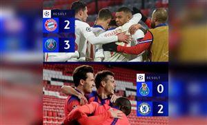 Kết quả UEFA Champions League sáng 08/4: Bayern thất bại trước PSG, Chelsea thắng dễ