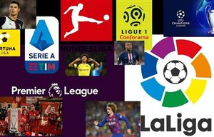 Lịch thi đấu, Kết quả, BXH các giải bóng đá VĐQG châu Âu: Ngoại hạng Anh, Bundesliga, Serie A, La Liga, Ligue I