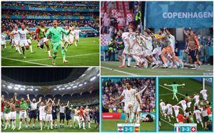 Kết quả vòng 1/8 UEFA EURO 2020 hôm nay: Tây Ban Nha loại Croatia, Thụy Sĩ loại Pháp trên chấm luân lưu