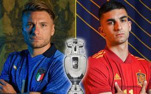 Bán kết EURO 2020: ĐT Italia - ĐT Tây Ban Nha | 02h00 ngày 07/7 trên VTV3, VTV9 và VTVGo