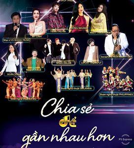 THTT hòa nhạc trực tuyến Chia sẻ để gần nhau hơn (20h10, VTV1)