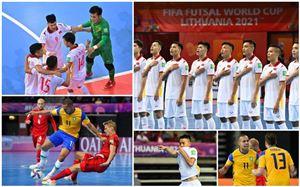 CẬP NHẬT Kết quả lịch thi đấu và BXH bảng C, D FIFA Futsal World Cup Lithuania 2021™: Tuyển Việt Nam có chiến thắng đầu tiên