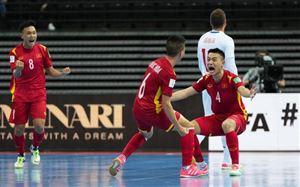 Xuất sắc giành quyền vào vòng 1/8, ĐT futsal Việt Nam được thưởng lớn