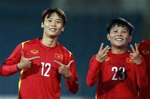 Thắng cách biệt Tajikistan 7-0, ĐT nữ Việt Nam giành vé dự VCK ASIAN Cup 2022