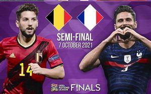 ĐT Bỉ - ĐT Pháp | Trận bán kết đáng mong đợi ở bán kết Nations League
