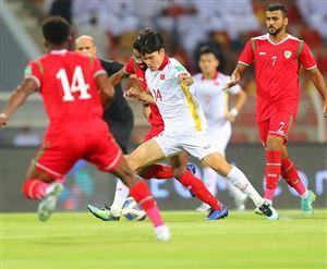 Có bàn dẫn trước, ĐT Việt Nam vẫn không thể có điểm số trước Oman