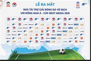Next Media có bản quyền phát sóng toàn bộ giải bóng đá vô địch U18 Đông Nam Á tại 12 quốc gia