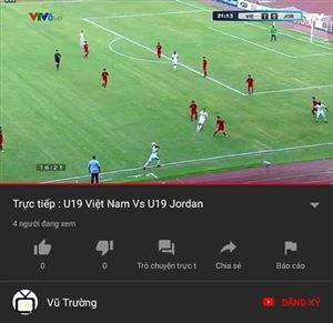Lịch trực tiếp U19 Việt Nam tại VCK U19 châu Á 2018 tuần này