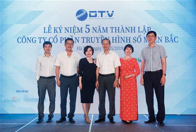 Công ty DTV long trọng tổ chức lễ kỷ niệm 5 năm ngày phát sóng truyền hình số DVB-T2