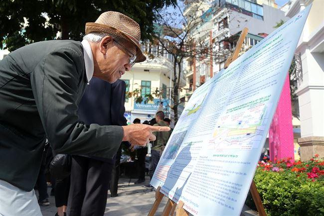 Hà Nội: Trưng bày quy hoạch tổng mặt bằng ga hồ Hoàn Kiếm để lấy ý kiến người dân