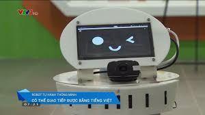 Bất ngờ với sản phẩm robot tự hành thông minh của Việt Nam