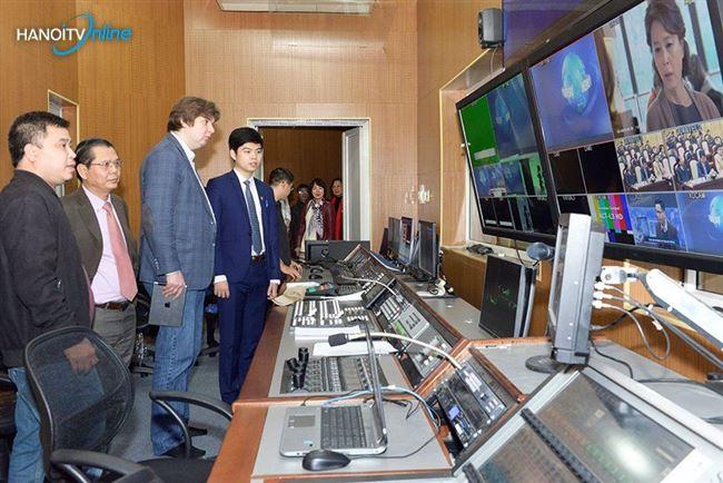 Đài Truyền hình Nga muốn hợp tác với Đài PT-TH Hà Nội