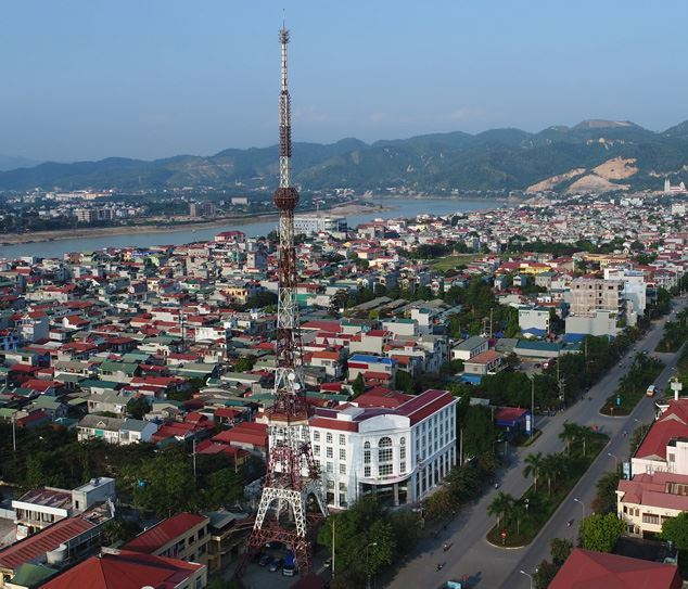 DTV.Co hoàn thành lắp đặt trạm phát sóng truyền hình số mặt đất DVB-T2 tại Hòa Bình