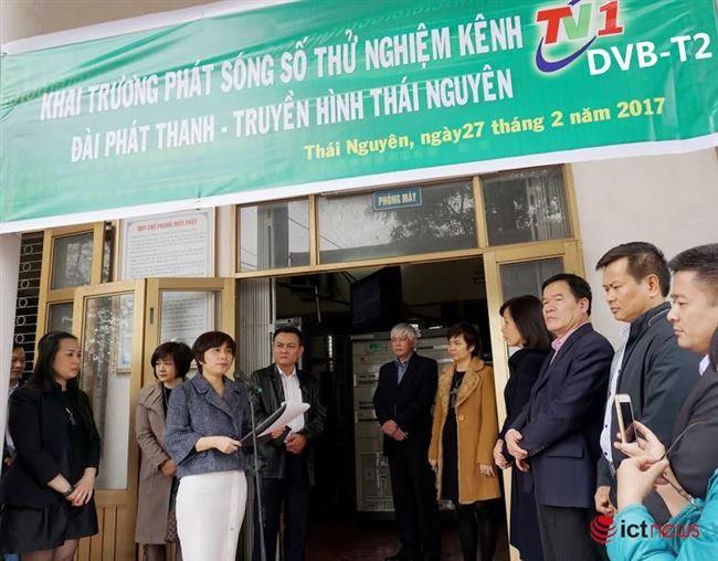 Thái Nguyên: Phát sóng kênh TN1 trên hệ thống truyền hình số DVB-T2