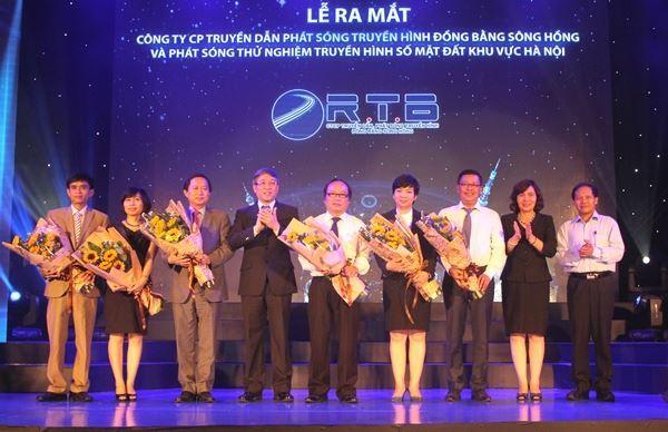 Ra mắt Công ty CP Truyền dẫn phát sóng đồng bằng Sông Hồng (RTB)