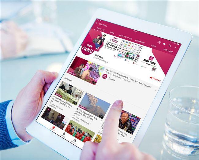 Đài VTC nhận hỗ trợ tài chính từ Quỹ Sáng tạo YouTube phát triển kênh VTC Now