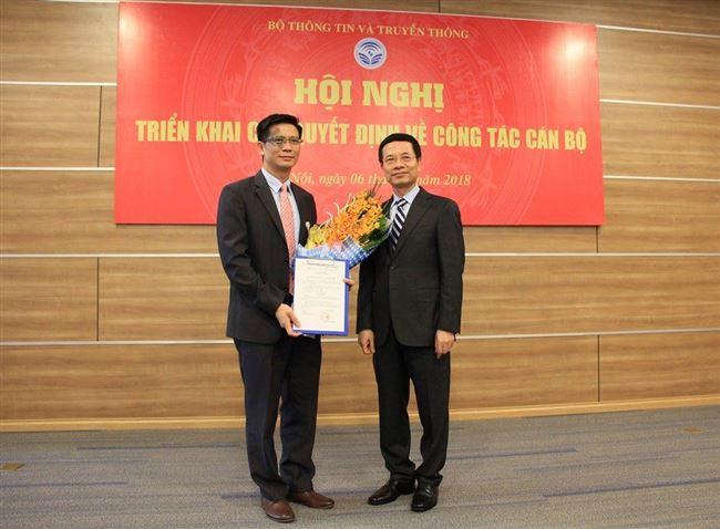 Ông Lê Văn Tuấn được bổ nhiệm quyền Cục trưởng Cục Tần số Vô tuyến điện