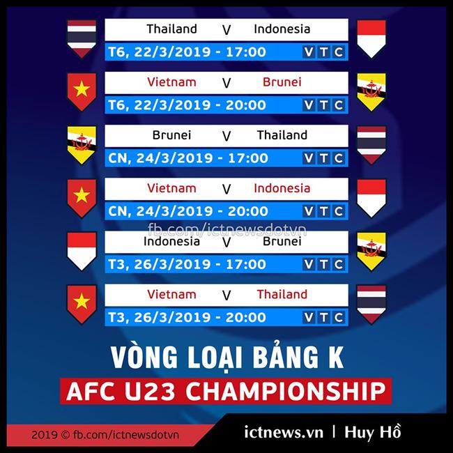 Đài VTC thử nghiệm công nghệ 4K trong các trận đấu vòng loại U23 châu Á 2020