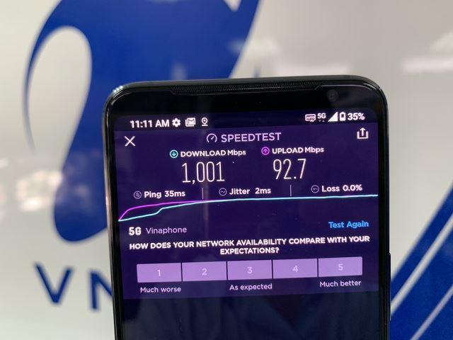 Tốc độ mạng 5G tại Việt Nam nhanh mức nào so với thế giới?