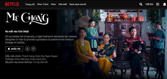 Netflix cập nhật 7 bộ phim Việt trên nền tảng từ ngày 15/12