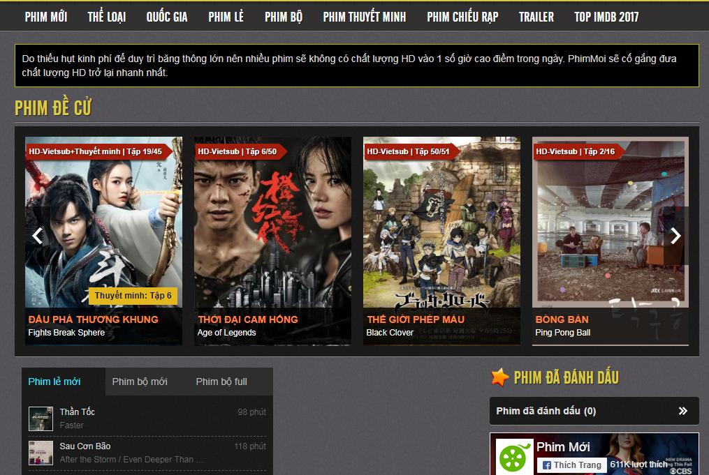 Trang web lậu kiếm hàng chục triệu view mỗi tháng