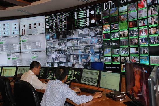 SDTV và RTB thiết lập thành công mạng đơn tần phát sóng truyền hình số