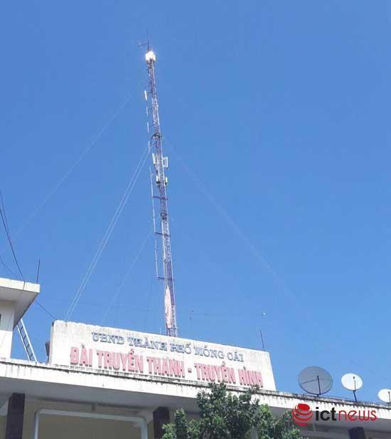 RTB phủ sóng truyền hình số DVB-T2 ở Móng Cái