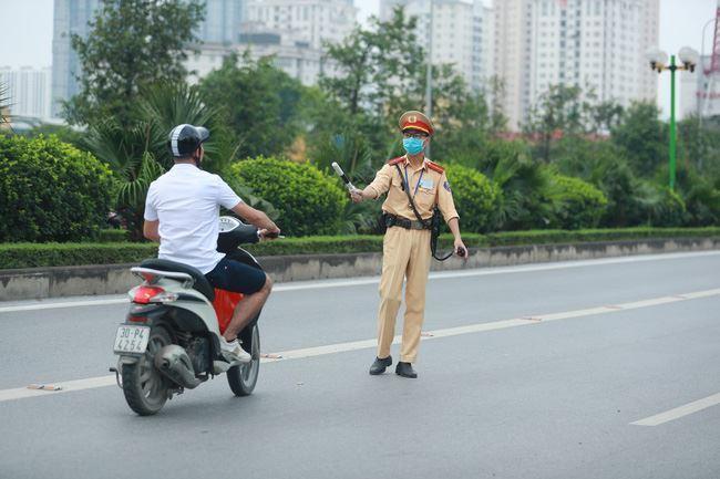 1 tuần kiểm soát phương tiện, Hà Nội đã phạt tiền hơn 6,6 tỷ đồng