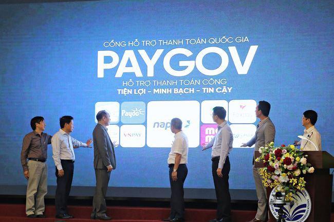Ra mắt cổng hỗ trợ thanh toán quốc gia PayGov, giúp thanh toán dịch vụ công thuận tiện hơn
