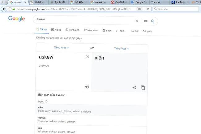 Những từ khóa tìm kiếm Google tạo hiệu ứng lạ mắt