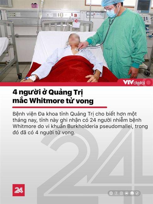 Tin nóng đầu ngày 25/11: 4 người mắc bệnh vi khuẩn ăn thịt người tử vong