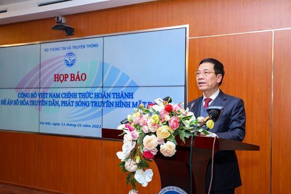 Việt Nam chính thức hoàn thành số hóa truyền hình mặt đất